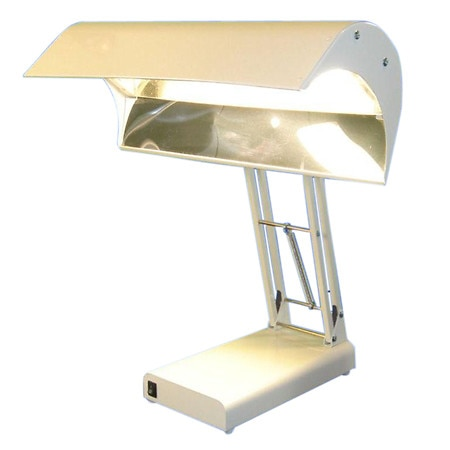 Northern Light Technologies Light Therapy 10,000 Lux Desk Lamp Beige