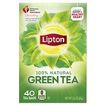 Lipton All Natural Pure Green Tea Bags, Original