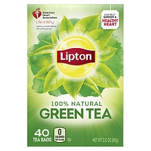 All Natural Pure Green Tea Bags, Original