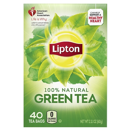 Lipton Green Tea Bags 40 pk