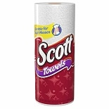 Scott Paper Towels White