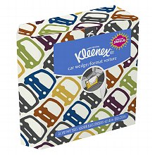 Kleenex Tissues Auto Pack White