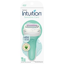 Schick Intuition Intuition Naturals Razor System Sensitive Care