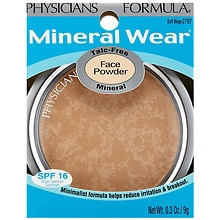 Mineral Wear Talc-Free Mineral Face Powder, Buff Beige