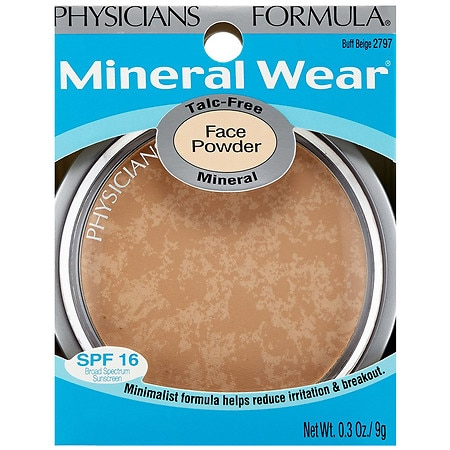 Physicians Formula Mineral Wear Face Powder Compact Buff Beige 2797