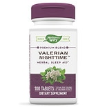 Nature's Way Valerian Nighttime, Natural Sleep Aid, Tablets