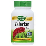 Nature's Way Valerian Root 530 mg Dietary Supplement Capsules