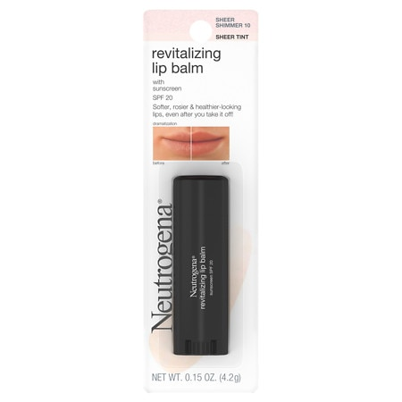 Neutrogena Revitalizing Lip Balm Sheer Shimmer 10