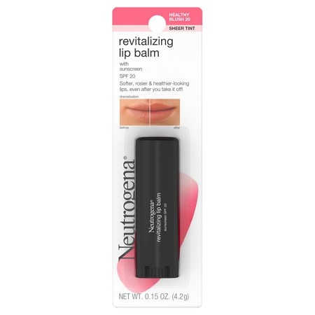 Neutrogena Revitalizing Lip Balm SPF 20 Healthy Blush 20