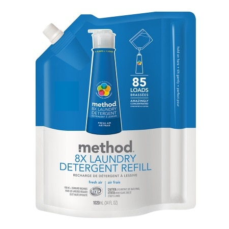 method Laundry Detergent Refill, 85 Loads Fresh Air