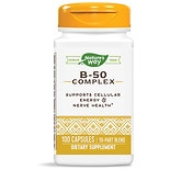 Vitamin B-50 Complex Dietary Supplement Capsules