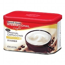 Maxwell House International Cafe Original Cappuccino Cafe-Style Beverage Mix Original Cappuccino
