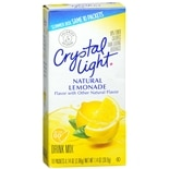 Crystal Light On the Go Drink Mix 10 Pack Lemonade