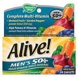 Alive! Men's 50+  Once Daily Multivitamin/Multimineral Dietary Supplement Tablet