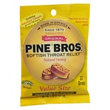 Pine Bros. Original Softish Throat Drops Natural Honey