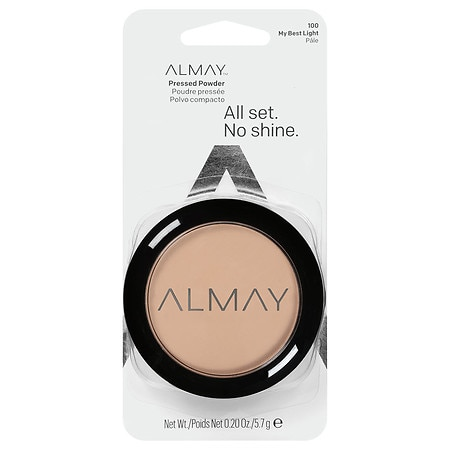 Almay Smart Shade Smart Balance Skin Balancing Pressed Powder Light 100