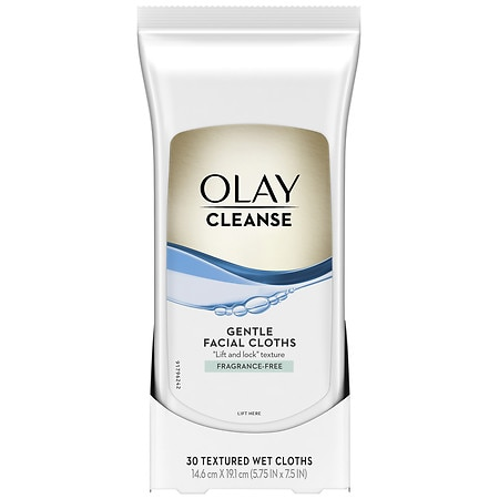 Olay Wet Cleansing Cloths Sensitive