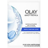 2-in-1 Daily Facial ClothsCombination/Oily