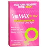 VirMAX for Her Pleasure Enhancer Dietary Supplement Tablets
