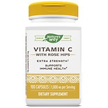 Vitamin C-1000 with Rose Hips Capsules