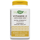 Nature's Way Vitamin C-1000 with Rose Hips Dietary Supplement Capsules