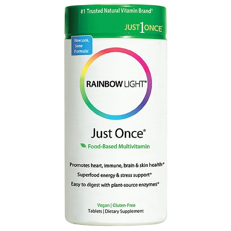 Rainbow Light Just Once, Tablets