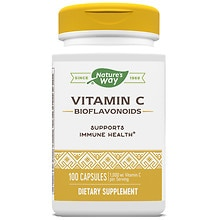 Nature's Way Vitamin C-500 Dietary Supplement Capsules