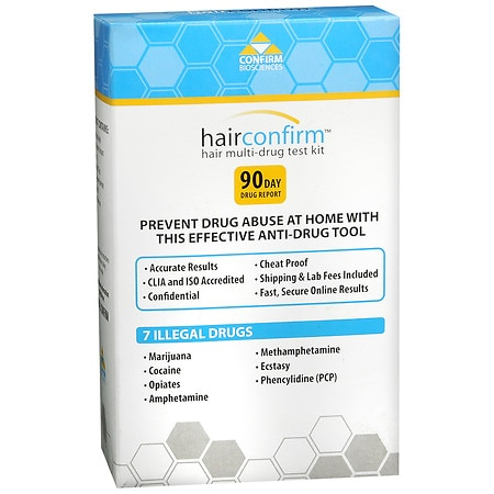 Hair Confirm Hair Multi-Drug Test Kit