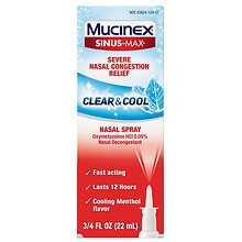 Mucinex Sinus-Max Full Force Nasal Spray