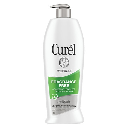 Curel Daily Moisture Fragrance Free Lotion for Dry Skin