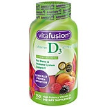 Vitafusion Vitamin D3 2000 IU Gummy Vitamins for Adults Dietary Supplement