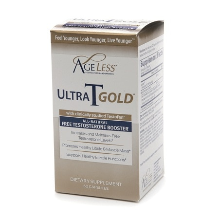 Naturade Ageless Ultra T Gold, Male Testosterone Booster