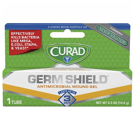 Curad Silver Solution First Aid Antimicrobial Gel