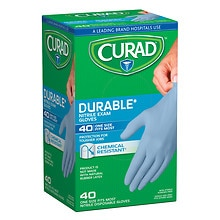 Powder-Free Exam Gloves, Nitrile