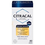 Citracal Slow Release 1200 Calcium+D Dietary Supplement Coated Tablets