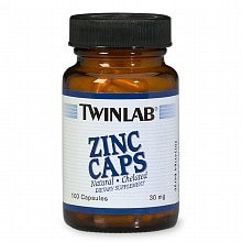 Zinc 30 mg Dietary Supplement Capsules