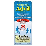 Children's Advil Children's Fever Ibuprofen Liquid Suspension White Grape Flavored