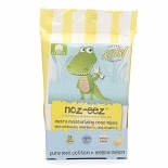 Natural Essentials Kids Noz-eez Extra Moisturizing Nose Wipes Mellow Melon