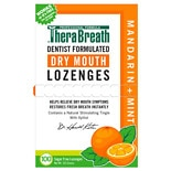 TheraBreath Fresh Breath Lozenges Mandarin Mint