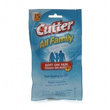 Cutter All Family Mosquito Wipes