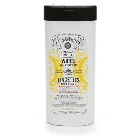 J.R. Watkins All Purpose Wipes Lemon