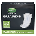 Depend For Men Incontinence Guards Maximum Absorbency One Size Fits All
