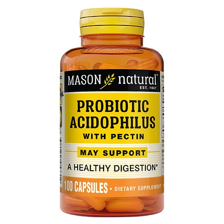Mason Natural Acidophilus with Pectin, Capsules