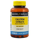 Mason Natural Calcium Citrate 1500mg with Vitamin D3, Caplets