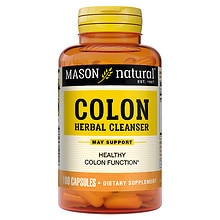 Mason Natural Colon Herbal Cleanser, Capsules