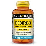 Mason Natural Desire-X, Horny Goat Weed, Capsules
