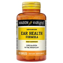 Mason Natural Advanced Ear Health Formula, Caplets