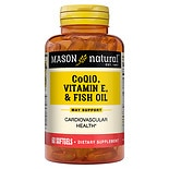 Mason Natural Heart Trio, Co Q-10, Vitamin E & Fish Oil, Softgels