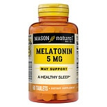 Mason Natural Melatonin, 2.5mg with Vitamin B-6, Tablets