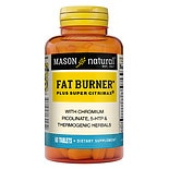Mason Natural Super Fat Burner Plus Super Citrimax, Tablets